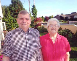 Mattie and Kathleen Fleming, Barnaderg on the occasion of their 60th wedding anniversary | Photo: courtesy of Rita Reddington