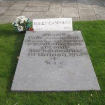 Glasnevin Cemetery, grave of Roger Casement | Photo: B. Forde