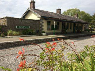 Ballyglunin Railway Station, August, 2017 | Photo: Ballyglunin Restoration Committee - courtesy of Mark Gibson