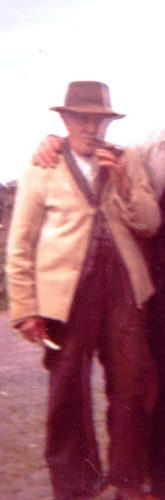 Thomas Duggan, Tygreenane, wearing his bauneen | Photo: courtesy of Mary Ellen Burke, Gurranecoyle, grandaughter.