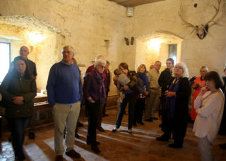 Guided tour of Claregalway Castle | Photo: Harry Marzouk