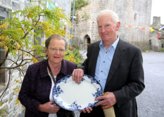 Mary and Dom Dunleavy, Barbersfort House at the Galway's Gastronomy Project launch at Claregalway Castle, organised by Galway County Council Heritage Office | Photo: Hany Marzouk