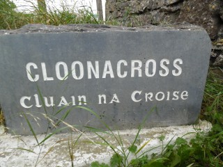 Cloonacross welcome stone | Milltown Heritage Group