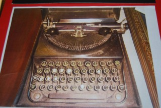 MJ Molloy's Typewriter | Milltown Heritage Group