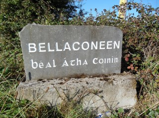 Townland Name carved in stone | Milltown Heritage Group