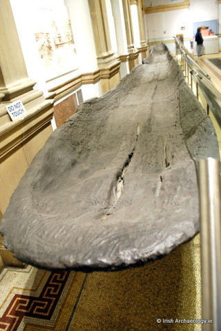 The Lurgan Canoe can be viewed in the National Museum of Ireland  | Irish Archaeology