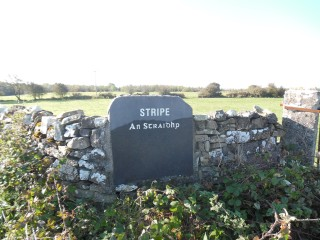 Stripe Townland Stone   Milltown Heritage Group