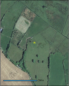East facing Ringfort (rath) in Carrownurlaur | OSI Maps