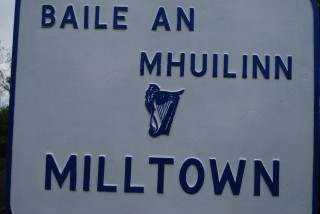 Milltown sign | Milltown Heritage Group