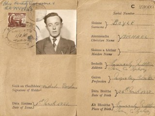 Michael Boyle's passport