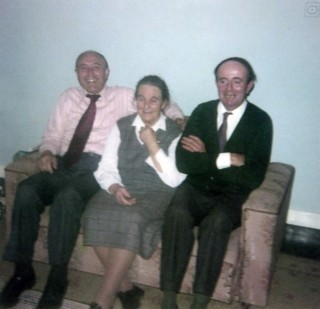 Pat and Sean Boyle with their mother Margaret | Sheron Boyle