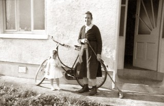 Sheron Boyle with her grandmother Margaret Boyle, Galway 1962 | Sheron Boyle