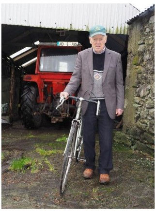 One of the most active centenarians in the county, Jim Burke Daly, celebrated his 100th birthday yesterday (Tuesday). He still enjoys making jam, cycling his bike and driving his tractor - and dancing.