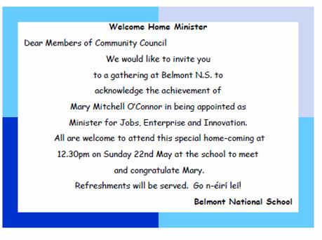 Invitation | Belmont National School