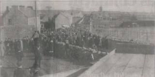 DOWN MEMORY LANE..to an earlier time and a different venue: Milltown Races 1915, near Sheridan's Shop & Pub.