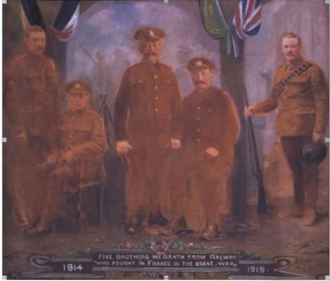Five McGrath Brothers