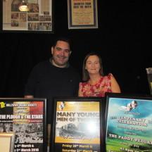 Milltown Drama Society. Rory Hynes & Ann Concannon