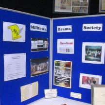 Milltown Drama Society Display