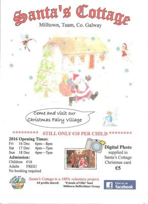 Santa's Cottage, Milltown Galway | Santa's Cottage