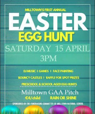Easter Egg Hunt | Milltown National School