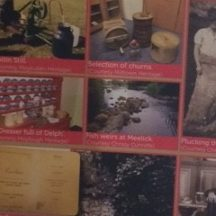 Milltown Heritage featured their selection of churns and luncheon menu on the Gastronomy banner | Photo: Deirdre McDonnell
