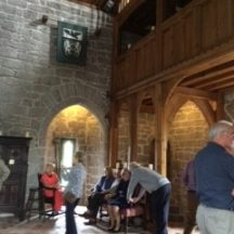 The hall in the castle | Photo: Deirdre McDonnell