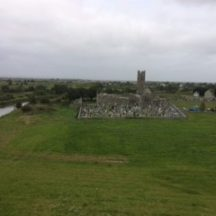 View of the Abbey from the castle | Photo: Deirdre McDonnell