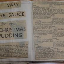 Vary The Sauce for your Christmas Pudding