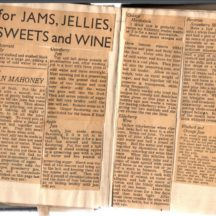 For Jams, Jellies, Sweets & Wines