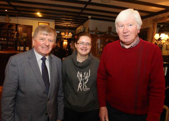 Cllr. Frank Kearny, Pauline Connolly and Tony Murphy from Milltown | Hany Marzouk