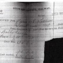 Rent Receipt 1st Feb 1913 | Tom McLoughlin