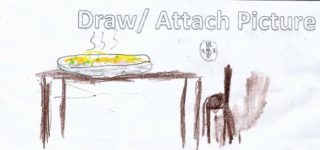 Serving   Drawing by Eoin Twomey O'Flaherty