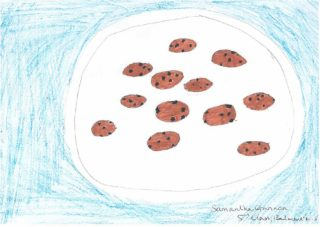 Cookies | Drawing by Samantha Gannon