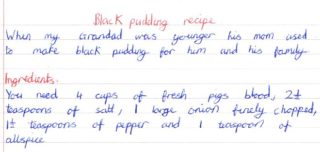 Black Pudding Recipe | Liam Walsh