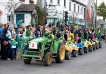 St. Patricks Day Parade in Moycullen 2015
