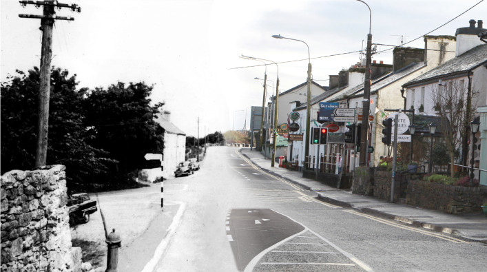 Moycullen Village Past to Present | Photo Credit Moycullen Historical Society