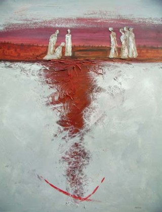 Winter Famine Burial - Aran | Kennys Gallery