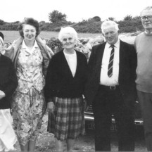 Sr. Ambrose, Margaret Thornton Connor, Nora Connolly, John Joe Connor (Headford) and John Connolly | Photo Credit MargaretConnolly Hackett