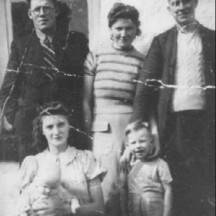 John Connolly Jnr and his siblings c1950 | Photo Credit Margaret Connolly Hackett