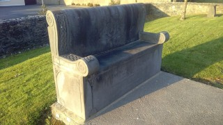 Ruaidrí Ó Flaitheartaigh Memorial Seat | Photo Credit Hazel Morrison