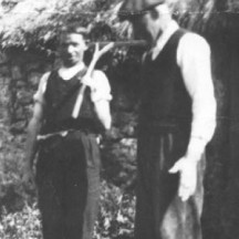 Matt Keeler and John Connolly at Ballyquirke 1925 | Photo Credit Margaret Connolly Hackett