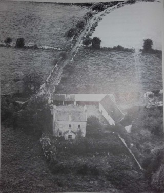 Deerfield - This was the parochial residence built by Father Francis Blake P.P. Circa 1826.  The house is no longer there, but the old walled garden is still in existence. | Moycullen Historical Society