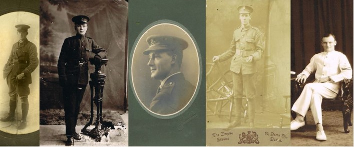 5 Morrison Brothers from Moycullen who faught in WW1 | Hazel Morrison