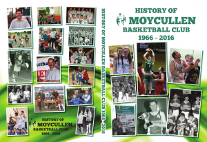 History of Moycullen Basketball Club 1966-2016 | Photo Credit: Moycullen Basketball Club