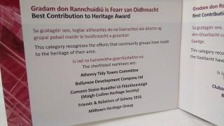 Program for The Cathaoirleach's Community Awards 2016 | Moycullen Historical Society