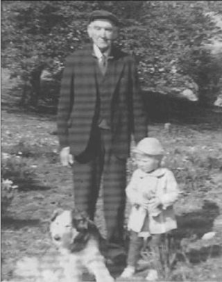Richard Fitzpatrick with his grandniece Jacinta Noone (Knockbane House)