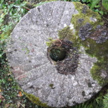 Mill Stone from Madden's Mill, Killagoola | Moycullen Historical Society