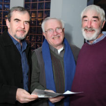 Gerry Darcy, Edward O'Loughlin, Padraic Breathnach