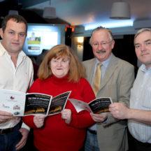 Cllr. Noel Thomas, Linda and Eugene Jordan, Jason O'Shaughnessy