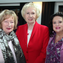 Clare O'Flaherty, Cllr. Terry O'Flaherty, Marian Beatty